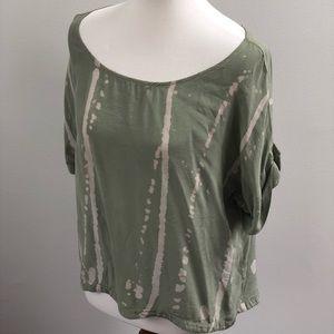 gypsy 05 • 100% silk tee in sage green
